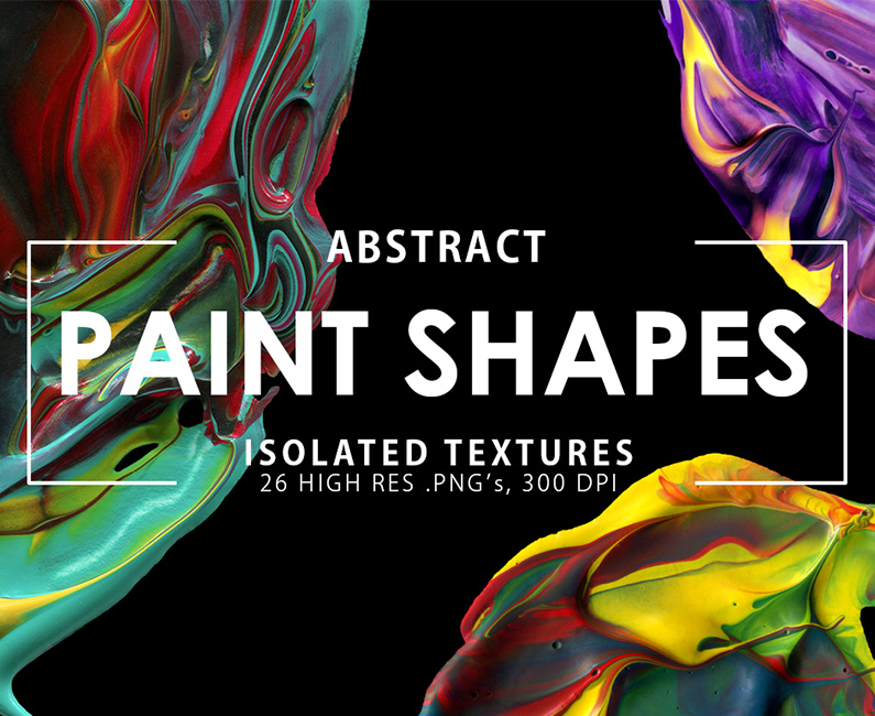 Abstract Paint Shapes prev 795×650