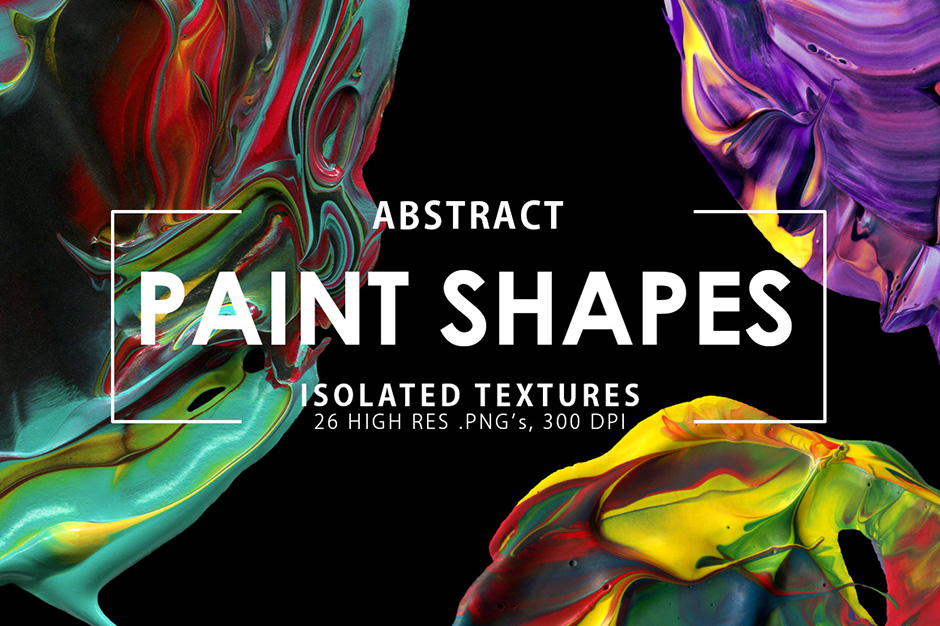 Abstract Paint Shapes prev1