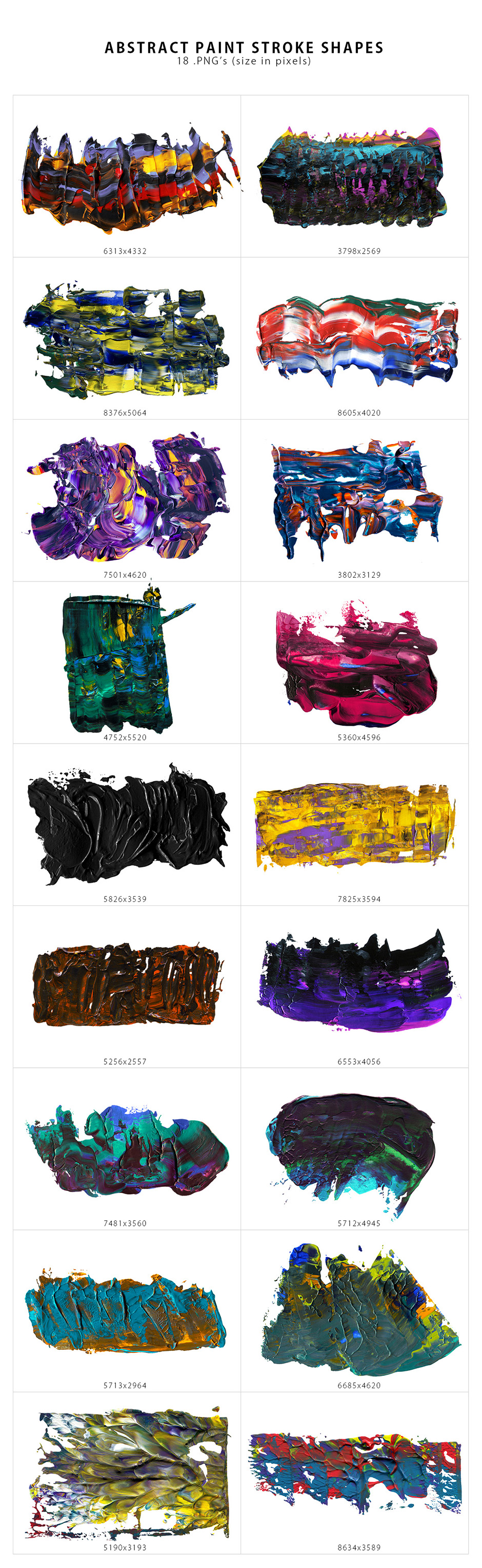 Abstract Paint Shapes prev3