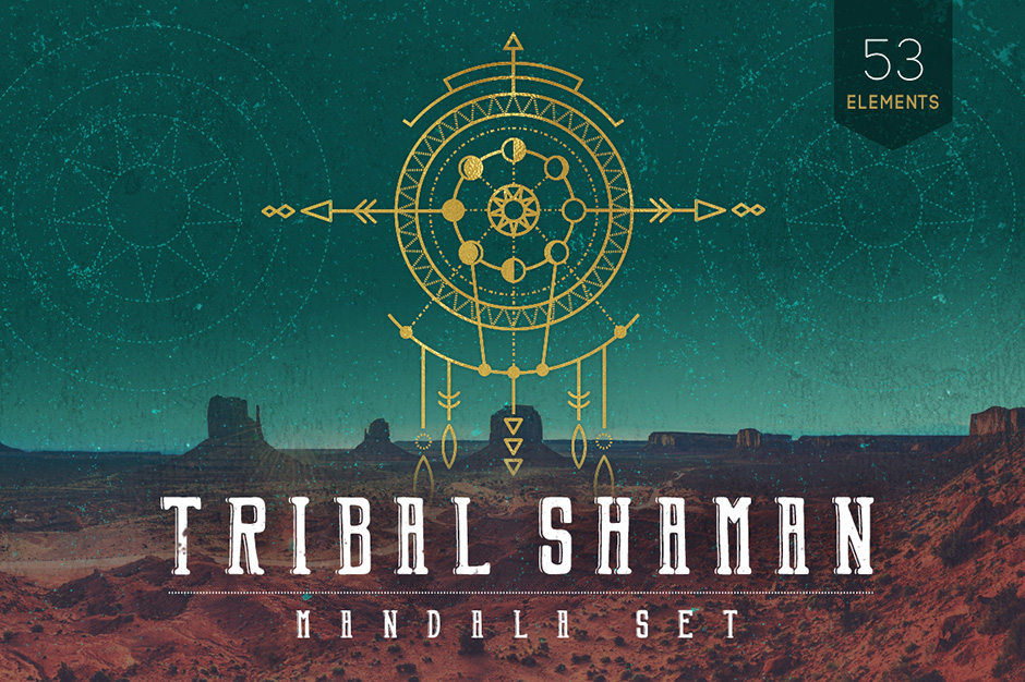 Tribal-Shaman-Mandala-Vector-Set