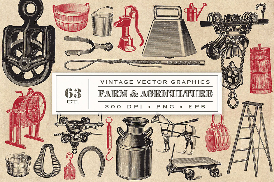 Vector Farm & Agriculture Graphics