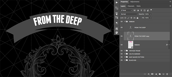 From the Deep Playing Card Design
