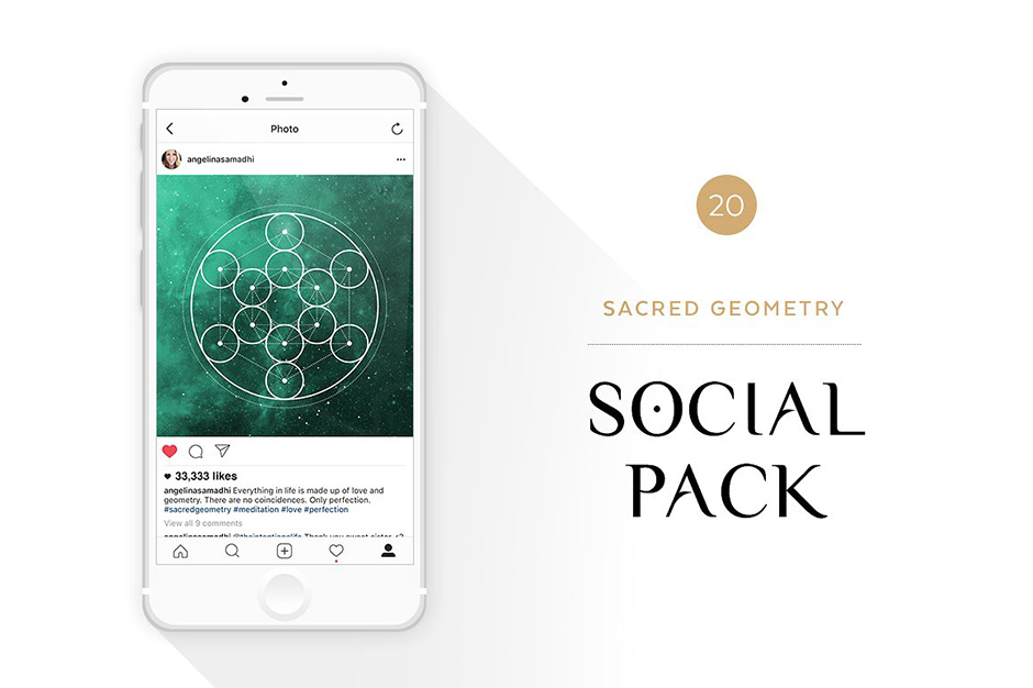 Sacred Geometry Social Media Pack