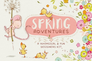 Spring Illustrations Adventures