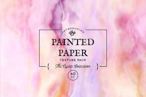 Painted Paper Textures Agate