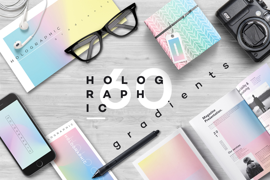 Holographic-gradients cover