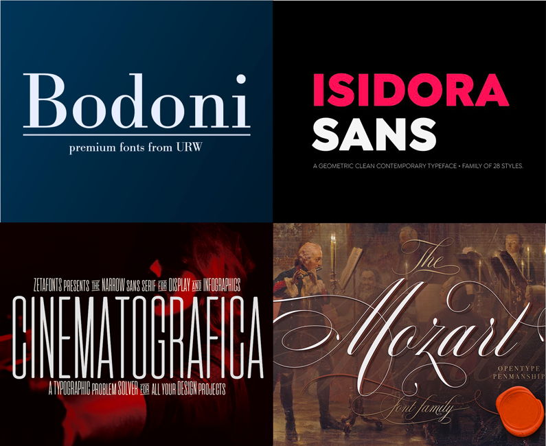 The Professional, Versatile Font Selection (Rerun)