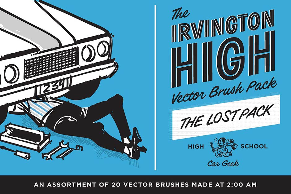 Irvington High School Vector Brushes