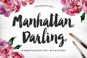 Manhattan Darling: Handwritten Font