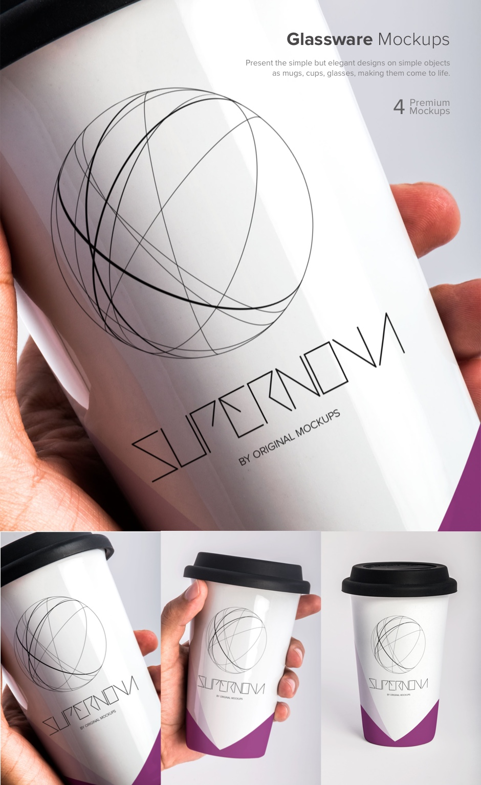 Supernova Mockups Bundle