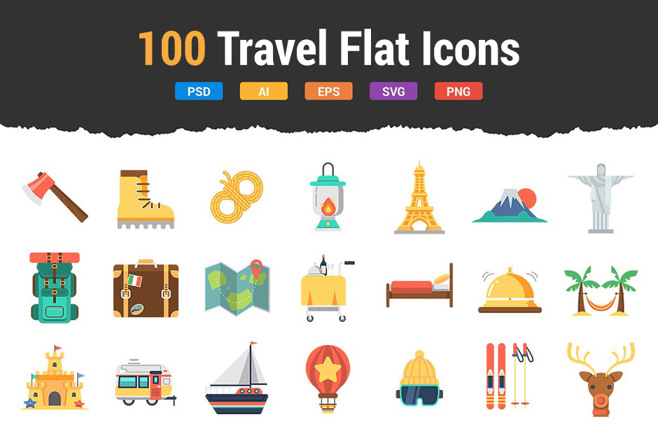 100travelflaticons-first-image