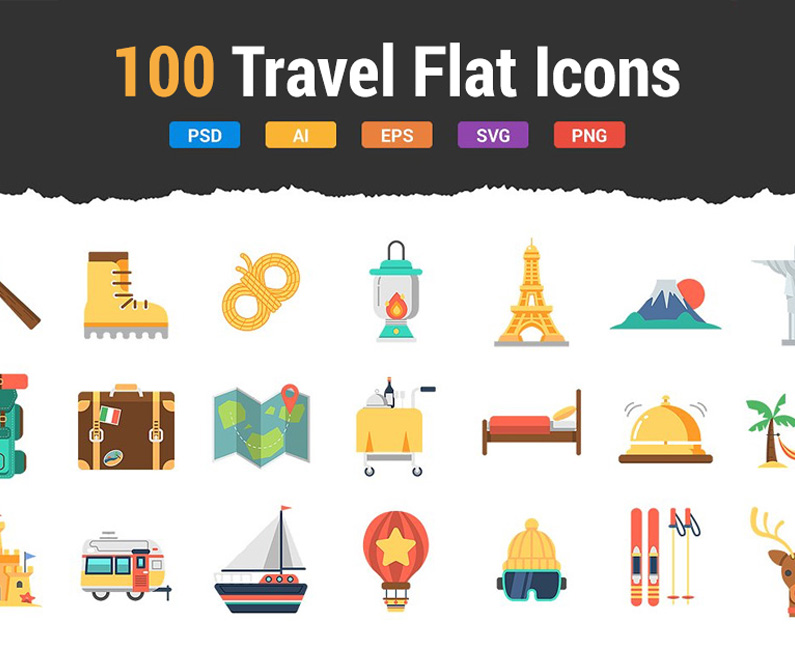 100travelflaticons-top-image