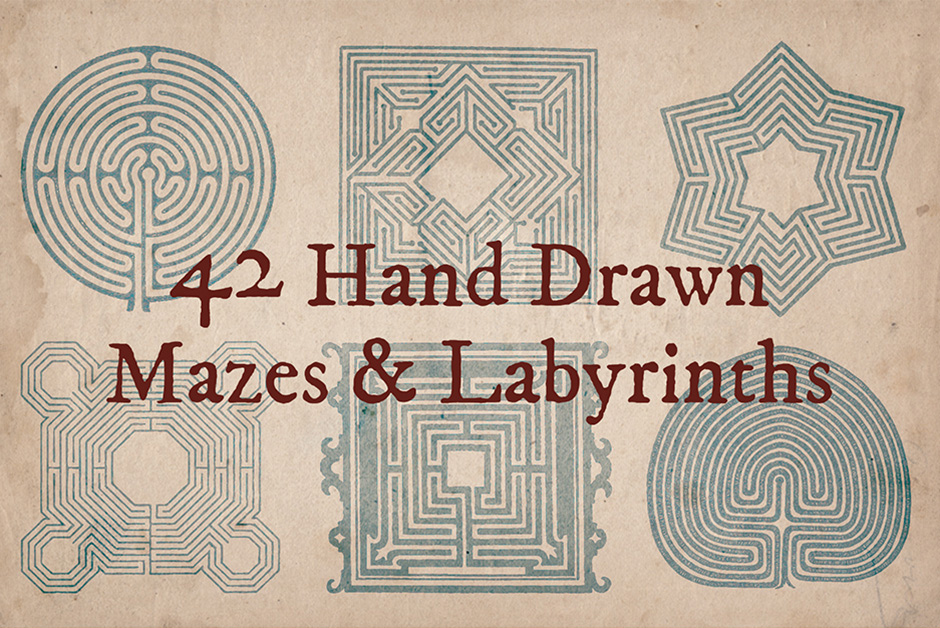 42-Hand-Drawn-Mazes-main