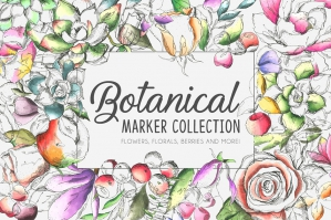Botanic Marker Collection