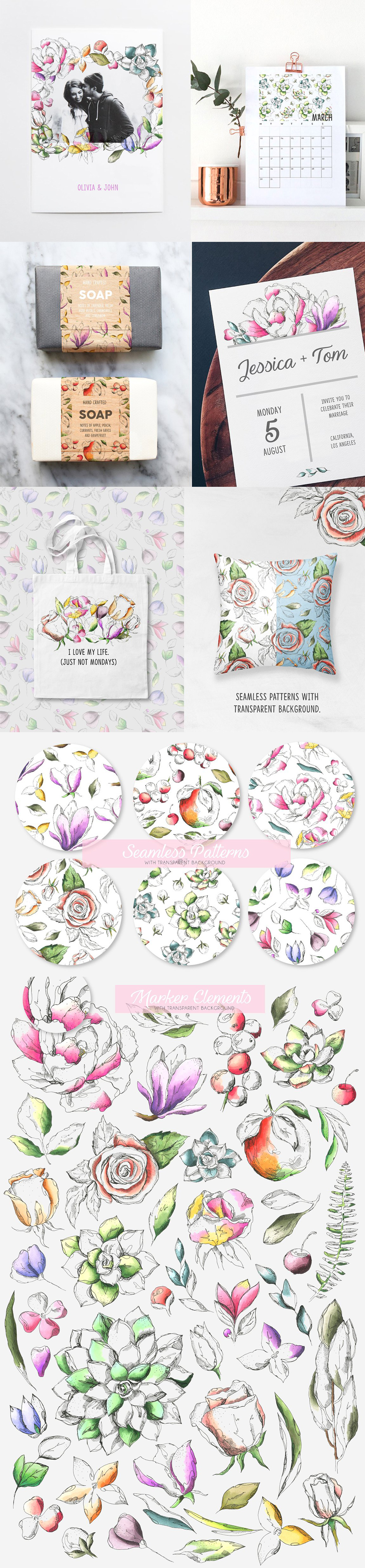 flower images and floral patterns
