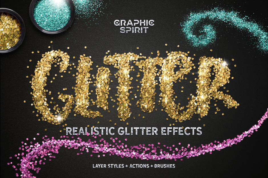 Glitter Effect Photoshop Toolkit