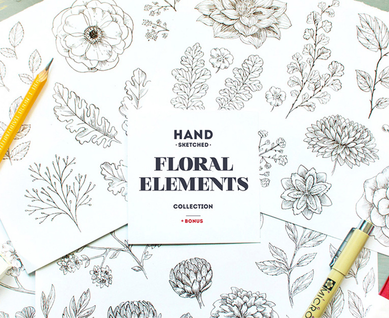 Handsketched-Floral-Elements-Kit-top