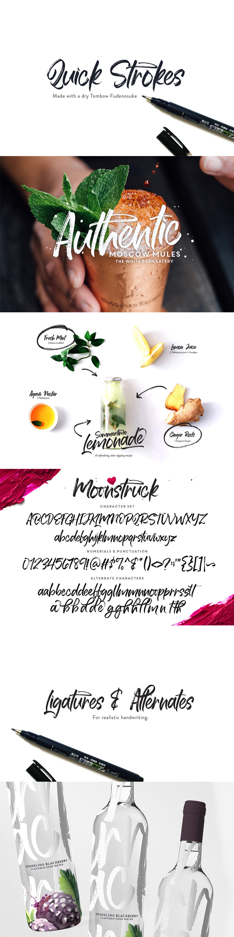Moonstruck Handwriting Font