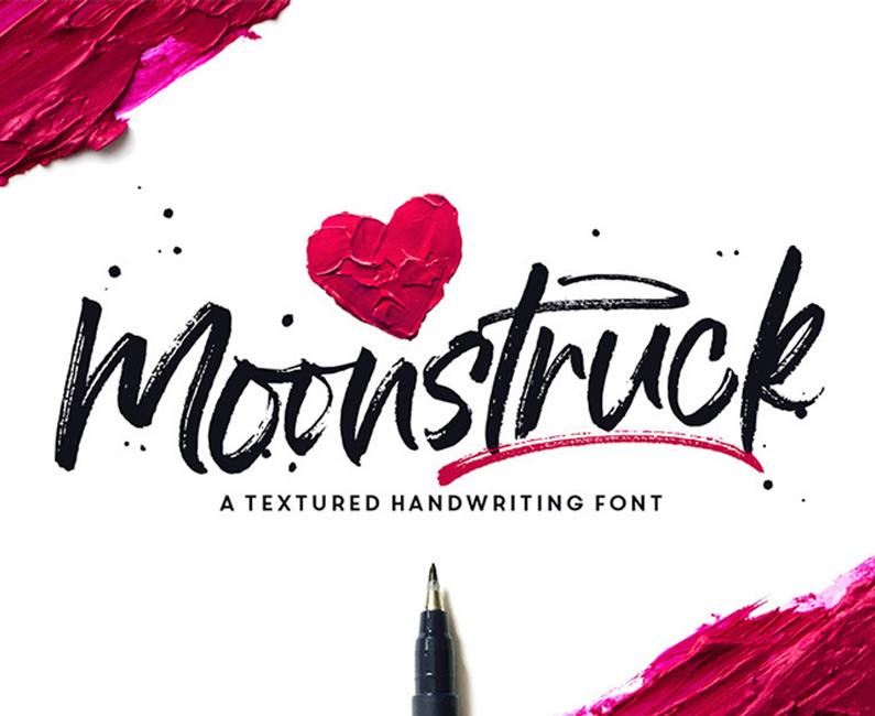 Moonstruck-Handwriting-Font-top