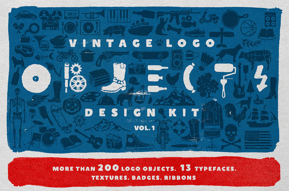 Objects-+-Fonts-Vintage-Logo-Kit-main
