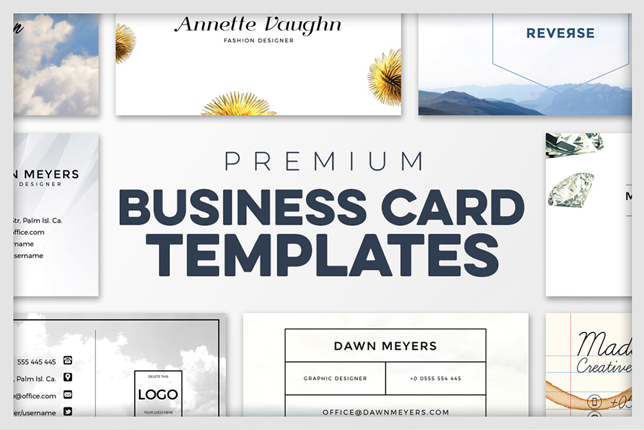 Business card templates a premium business card creation kit premium business card templates by zeppelin graphics cheaphphosting Choice Image