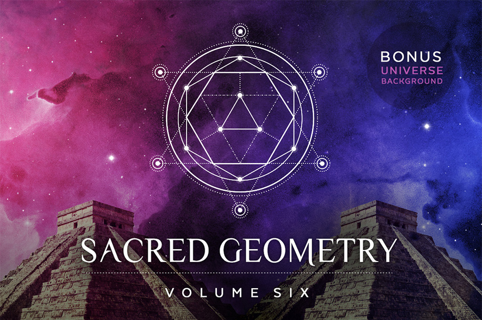 Sacred Geometry Vector Set Volume 6