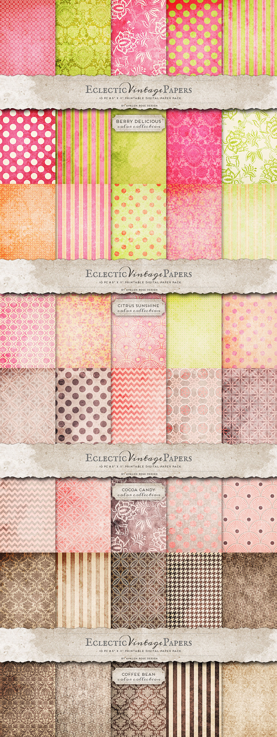 Vintage Paper Patterns Mega Pack