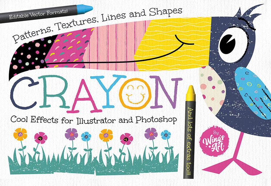 Wax-Crayon-Patterns-&-Textures–main