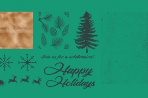 Festive Textures Graphics and Catchwords