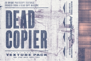 Dead Copier Photocopy Textures Pack