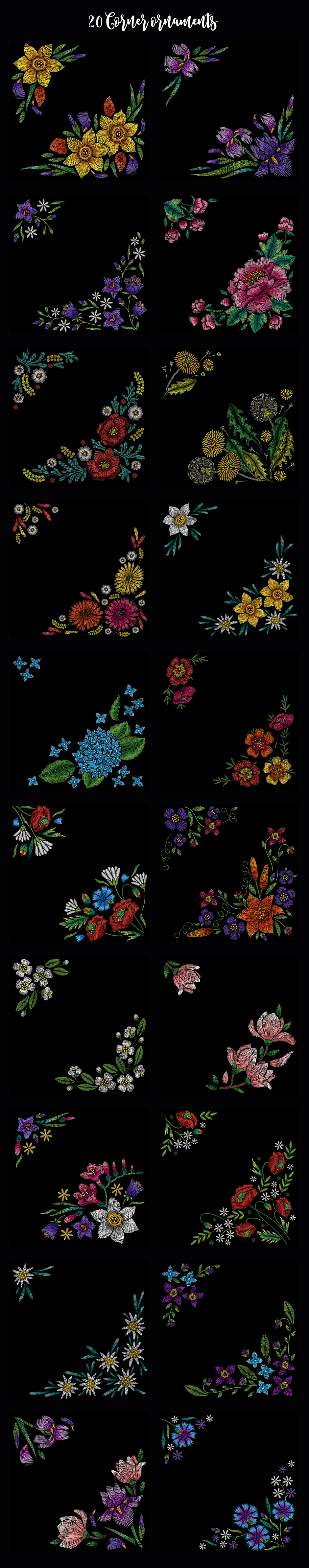 embroidery elements
