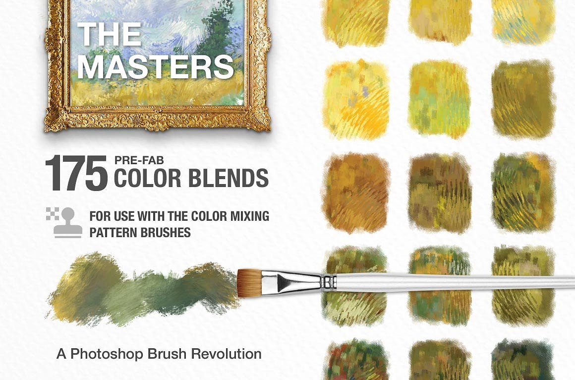 color blend brushes