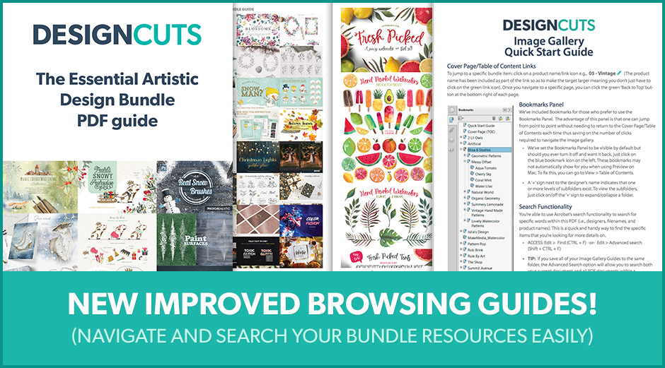The Essential Artistic Design Bundle