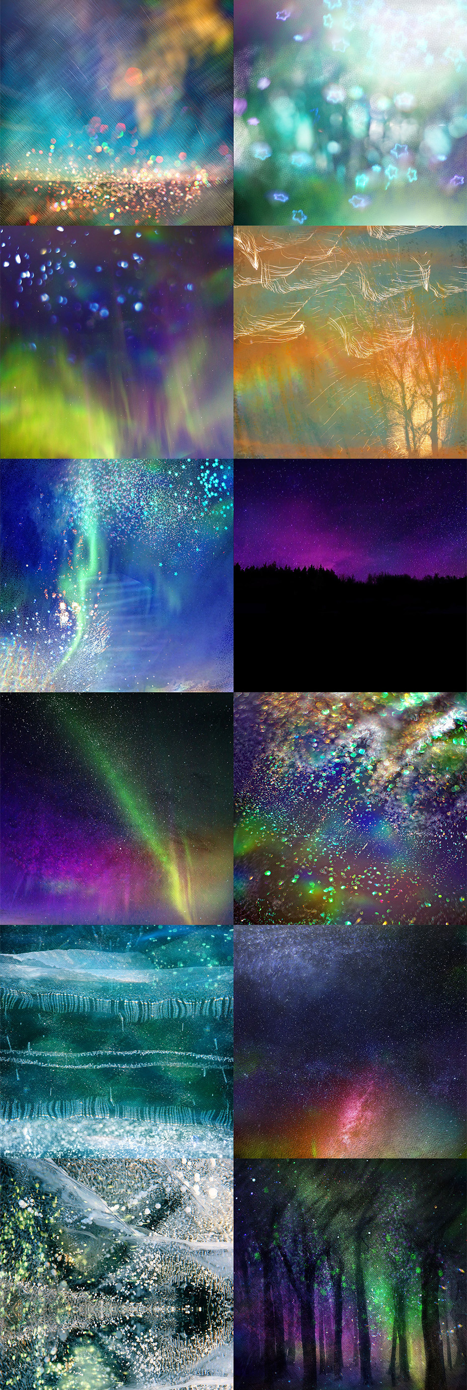 aurora borealis backgrounds