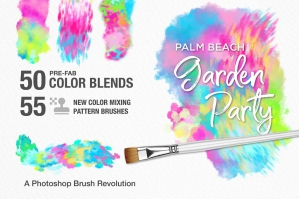 Palm Beach Garden Party PS Brushes