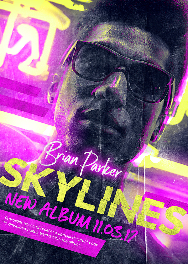 Skylines Flyer Design