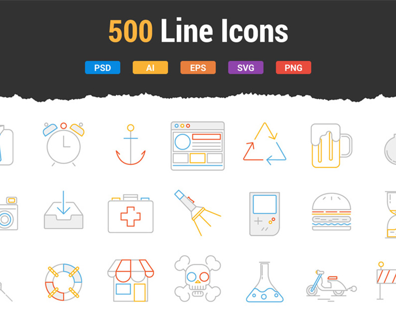 500lineicons-top-image
