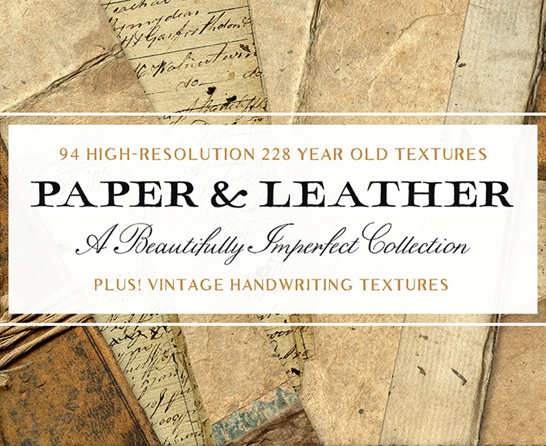 94-Vintage-Leather-&-Vintage-Paper-Textures-top