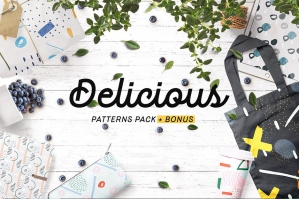 Delicious Abstract Patterns Pack