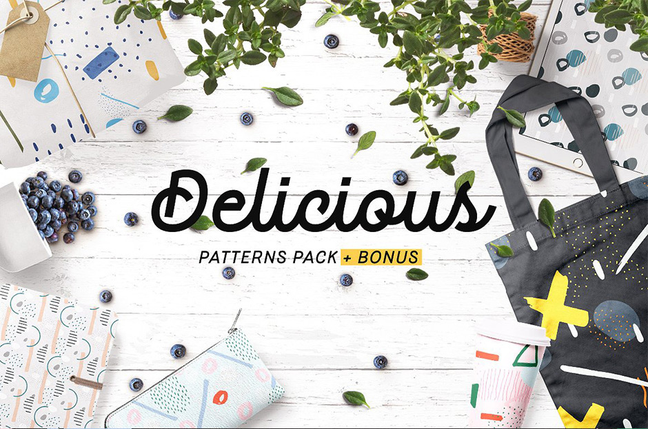 Delicious Abstract Patterns Pack + Bonus
