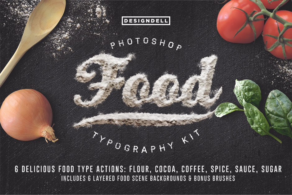 Design Dell – FoodTypography-first-image