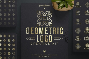 Geometric Logo Creation Kit - Arabian Edition