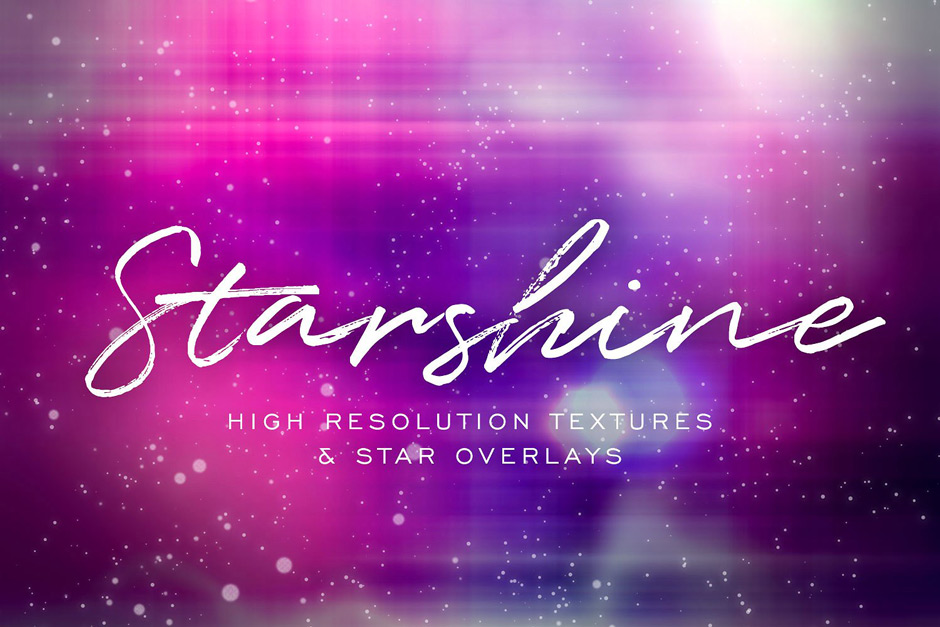 Starshine Galaxy Textures Overlays
