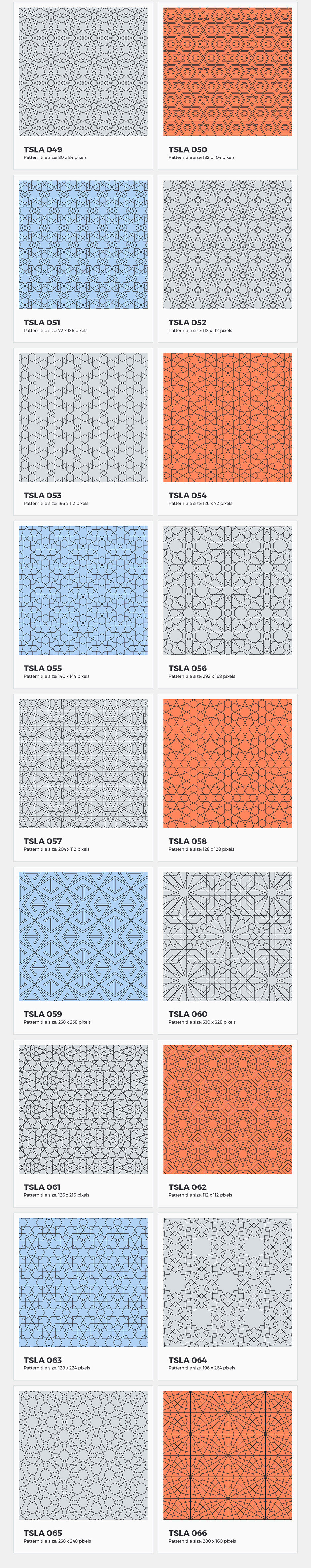 Tesselation Geometry Patterns