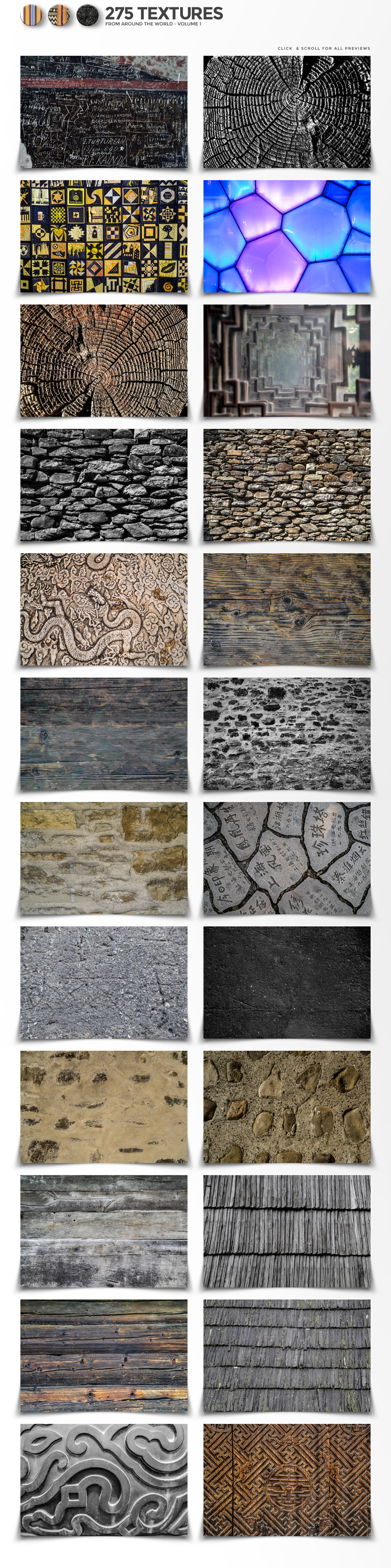 275 World Textures From Around The Globe