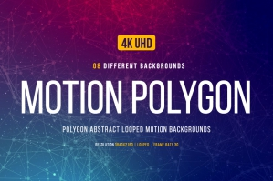 Motion Polygon Backgrounds