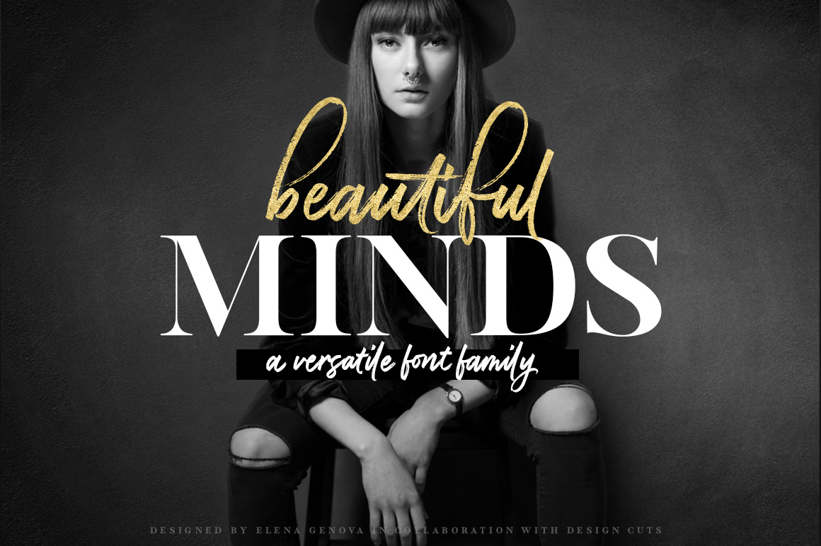 Beautiful Minds – A Versatile Font Family