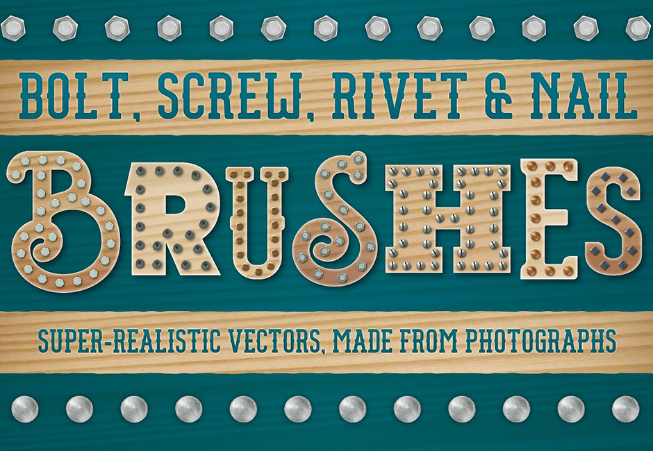 DIY themed Illustrator brushes