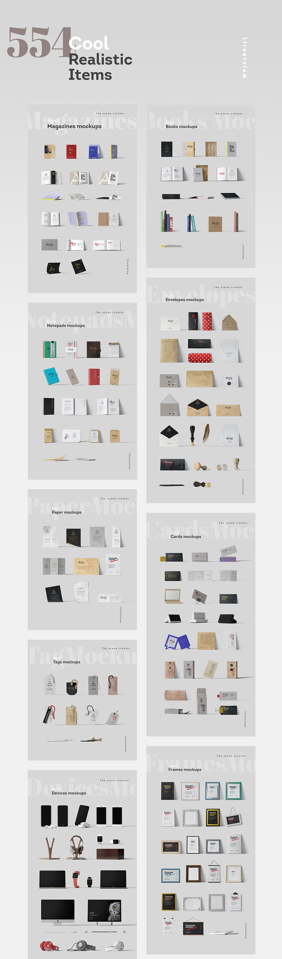 The Essential Mockup Templates Bundle: Over 20 Huge Packs For $29!