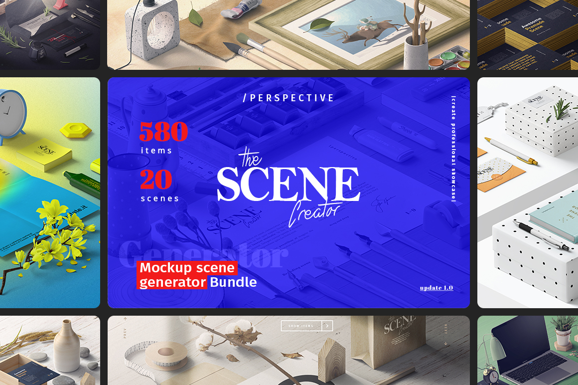 The Essential Mockup Templates Bundle
